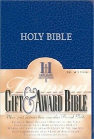 Bible KJV Gifts & Award Blue